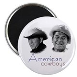 Reagan Bush Cowboys Magnet