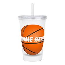 Personalized Basketball Ball Acrylic Double-wall T