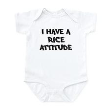 RICE attitude Infant Bodysuit