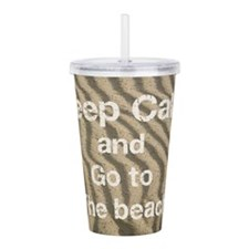 Beach Acrylic Double-Wall Tumbler