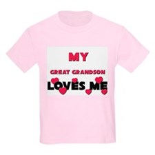 My GREAT GRANDSON Loves Me T-Shirt