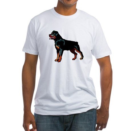 Rottweiler Fitted T-Shirt