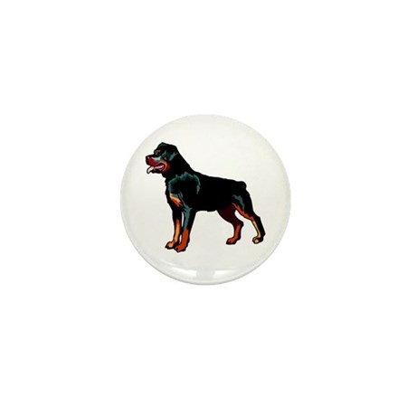 Rottweiler Mini Button