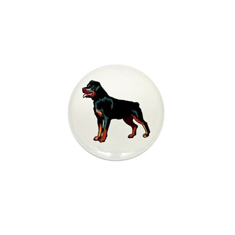 Rottweiler Mini Button (100 pack)