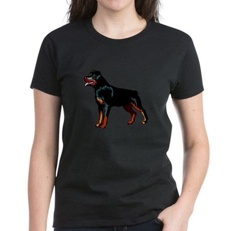 Rottweiler Women's Dark T-Shirt