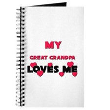 My GREAT GRANDPA Loves Me Journal