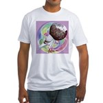 Mealy Norwich Cropper Fitted T-Shirt