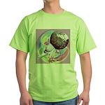 Mealy Norwich Cropper Green T-Shirt