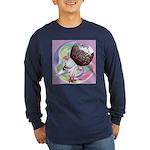 Mealy Norwich Cropper Long Sleeve Dark T-Shirt