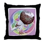 Mealy Norwich Cropper Throw Pillow
