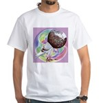 Mealy Norwich Cropper White T-Shirt