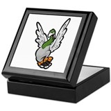 Scared Pigeon Keepsake Box