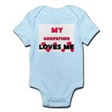 My GODFATHER Loves Me Onesie