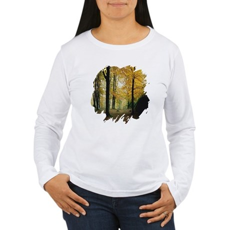 Autumn Woods Women's Long Sleeve T-Shirt