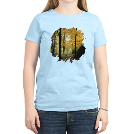 Autumn Woods Women's Light T-Shirt