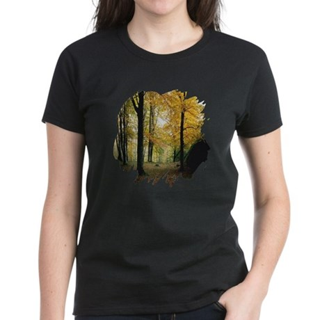 Autumn Woods Women's Dark T-Shirt