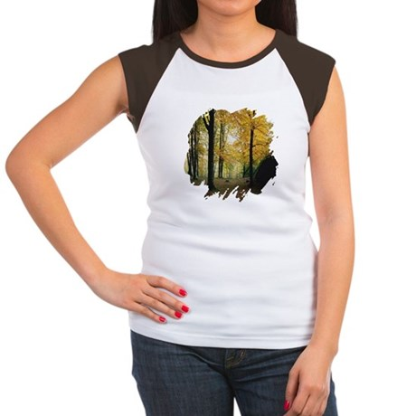 Autumn Woods Women's Cap Sleeve T-Shirt