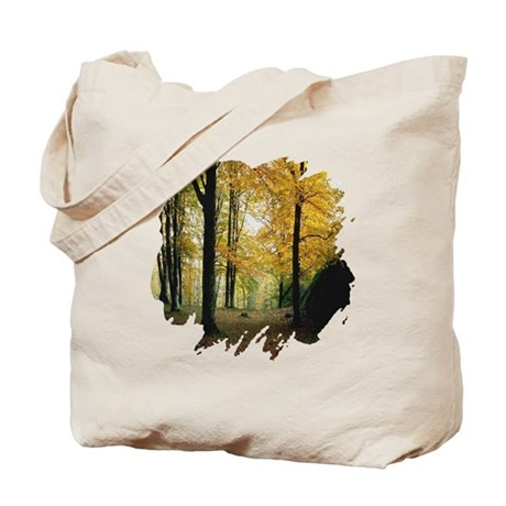 Autumn Woods Tote Bag