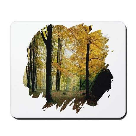 Autumn Woods Mousepad