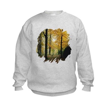 Autumn Woods Kids Sweatshirt