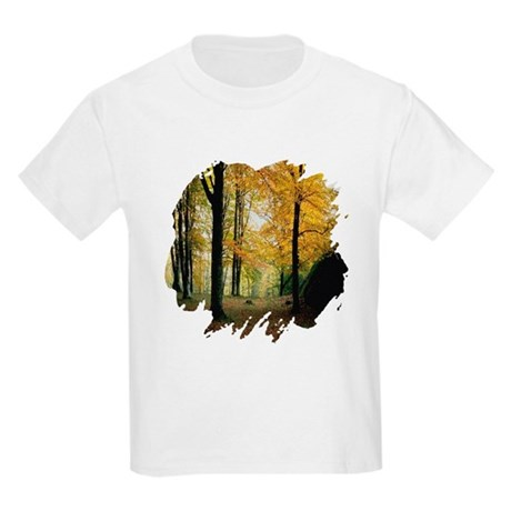 Autumn Woods Kids Light T-Shirt