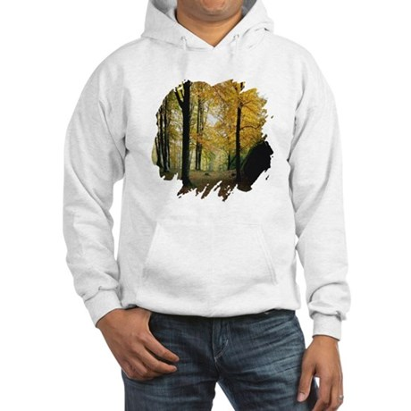 Autumn Woods Hooded Sweatshirt