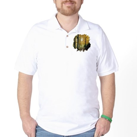 Autumn Woods Golf Shirt