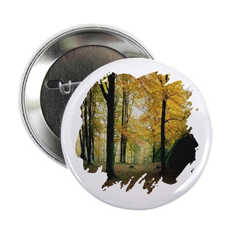 Autumn Woods 2.25&quot; Button (10 pack)