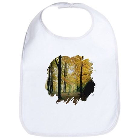 Autumn Woods Bib