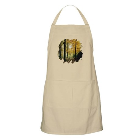 Autumn Woods BBQ Apron