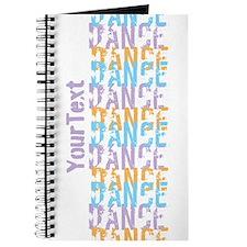 Customize DANCE DANCE DANCE Journal