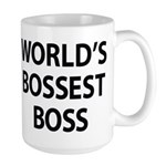 World's Bossest Boss Mugs