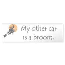 My other car is a broom