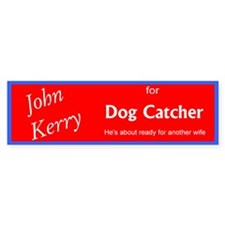 John Kerry for Dog Catcher
