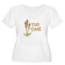 Tiki Time Plus Size T-Shirt
