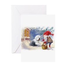 Cute Holliday Greeting Card