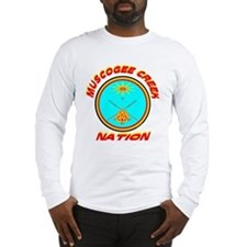 MUSCOGEE CREEK NATION Long Sleeve T-Shirt