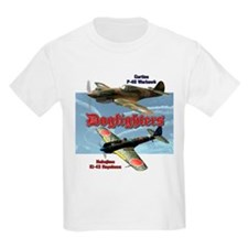 Dogfighters: P-40 vs Ki-43 T-Shirt