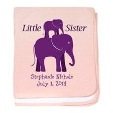 Little Sister baby blanket