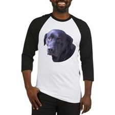 Cute Black lab Baseball Jersey