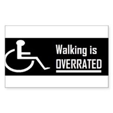 bumper walking is overrated-bumper Decal