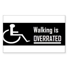 Funny Wheelchair Decal