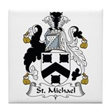 St. Michael Tile Coaster