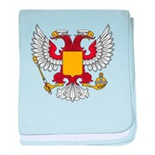 Eagle with shield baby blanket