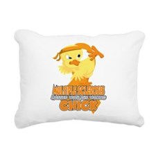 Multiple Sclerosis Messe Rectangular Canvas Pillow