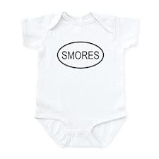 SMORES (oval) Infant Bodysuit