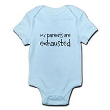 my parents are exhausted Body Suit