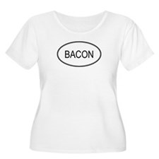 BACON (oval) T-Shirt
