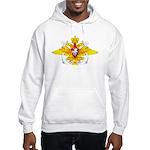 Russian Navy Emblem Hooded Sweatshirt