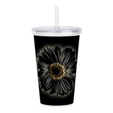 daisy-black_12x18.jpg Acrylic Double-wall Tumbler